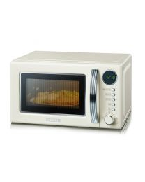 MW 7892 Retro-Mikrowelle mit Grillfunktion 2-in-1