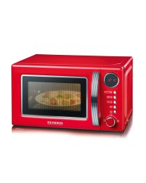 MW 7893 Retro-Mikrowelle mit Grillfunktion 2-in-1