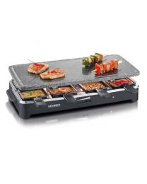 RG 2343 Raclette-Partygrill mit Naturgrillstein